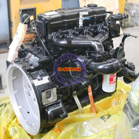 Cummins ISB4.5, ISD4.5, ISBE4.5, ISDE4.5 Engine Assy, Long Block, Short Block