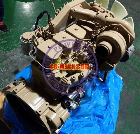 Komatsu SA6D102 Engine Assy Long Block