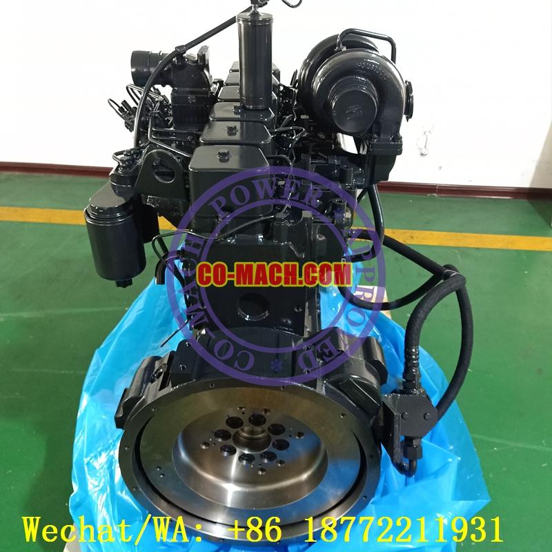 Komatsu PC200-7 Excavator Engine SAA6D102 6D102 Engine Long Block