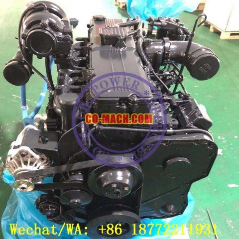 Cummins QSC8.3 Industrial Engine Komatsu SAA6D114E-3