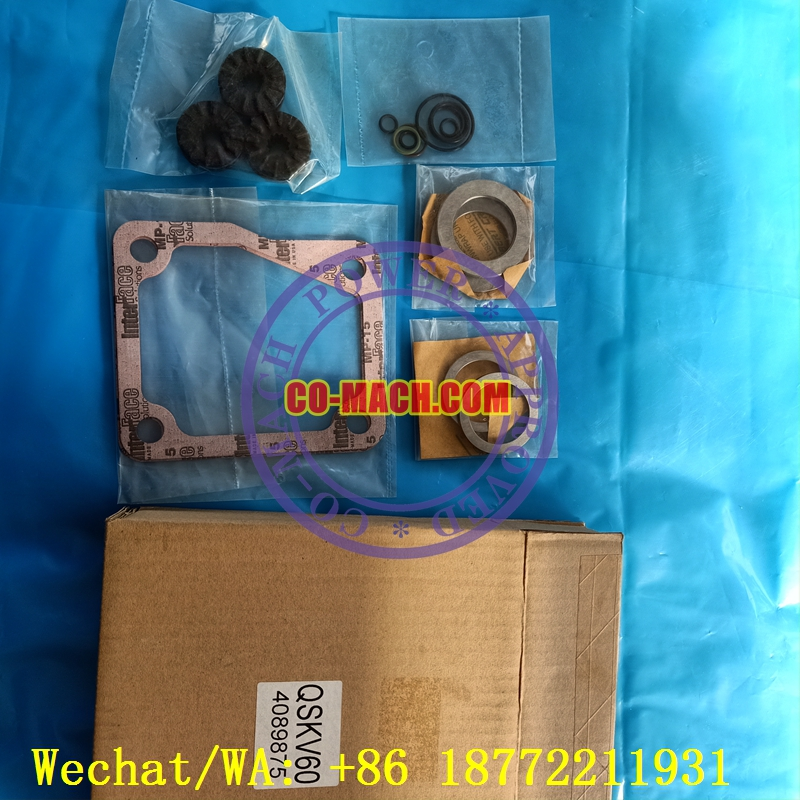 Cummins QSK60 Lower accessory gasket set 4089309 4089875