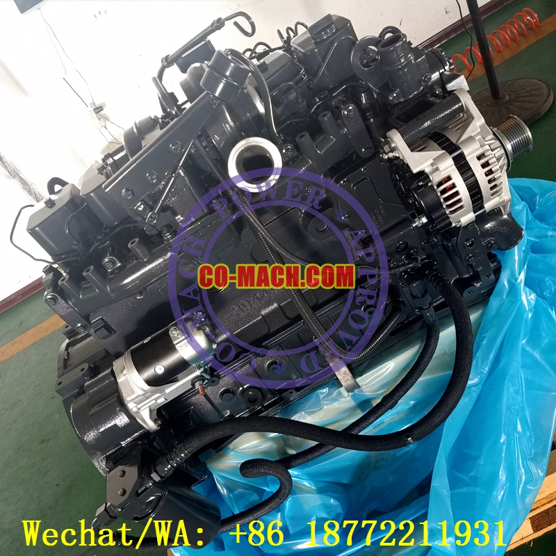 Komatsu Excavator Engine SAA6D102E-2 for PC270