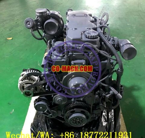 Komatsu SAA4D107E-1 Engine QSB4.5-C130 Engine for PW160-7
