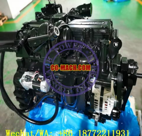 Komatsu SAA6D114E-3 Engine for PC350-8 Excavator