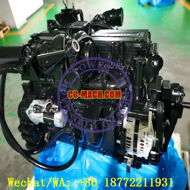 Komatsu SAA6D114E-3 Engine for PC350-8 Excavator