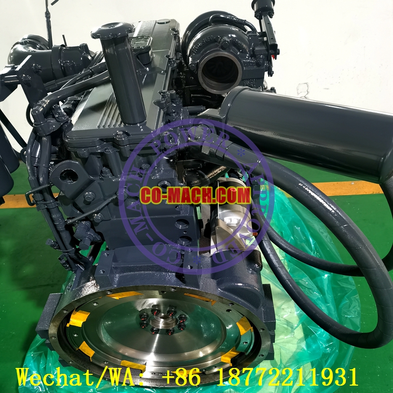 Koamtsu PC300LC-8 Excavator SAA6D114E-3 QSC8.3-C260 Engine
