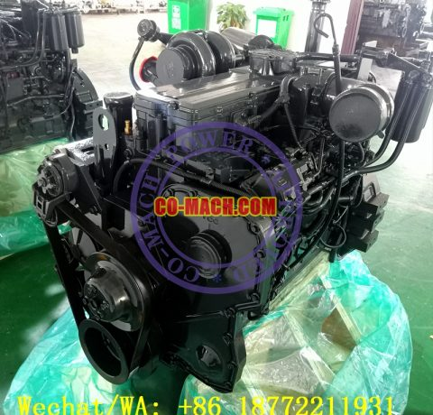 Koamtsu PC300LC-8M0 Excavator SAA6D114E-3 QSC8.3-C260 Engine
