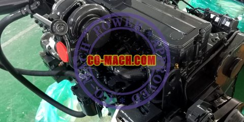 Koamtsu SAA6D114E-3 Engine for PC300LC-8M0 Excavator QSC8.3-C260