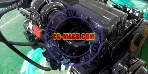 Koamtsu SAA6D114E-3 Engine for PC350-7E0 Excavator QSC8.3-C260
