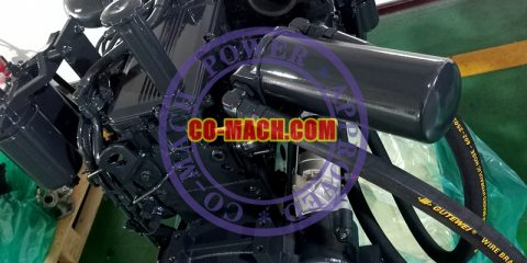 Koamtsu SAA6D114E-3 Engine for PC350LC-7E0 Excavator QSC8.3-C260