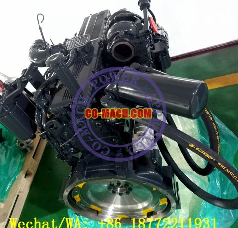 Koamtsu SAA6D114E-3 Engine for PC350LC-7E0 Excavator QSC8.3-C260