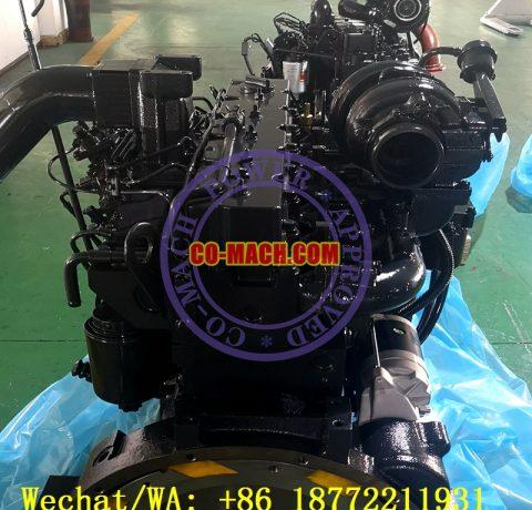 Komatsu GD655-3A Motor Grader SAA6D114E-2 Engine 6CTAA8.3