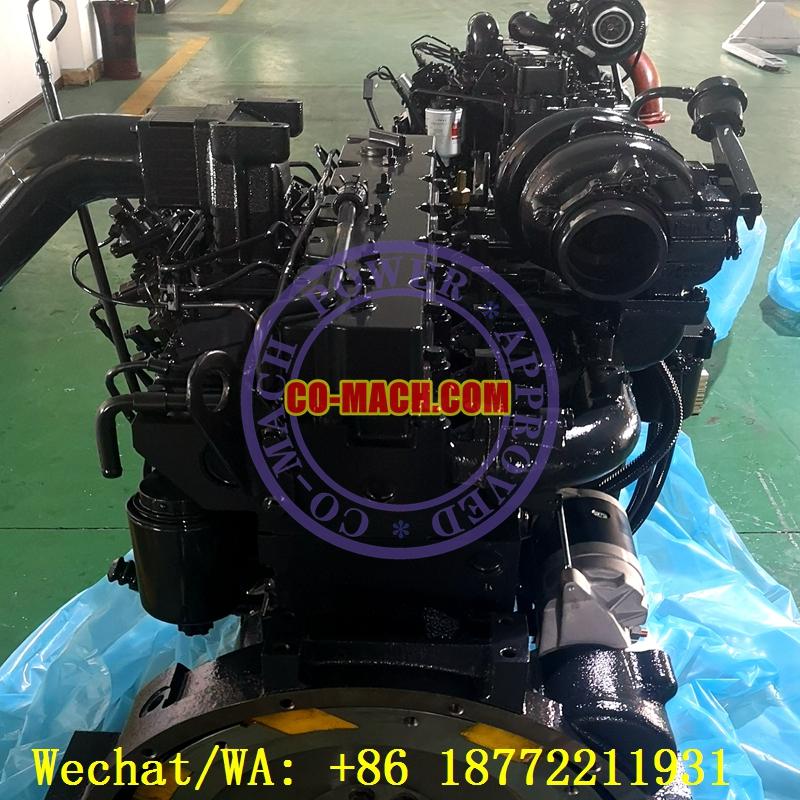 Komatsu PC300-7 Hydraulic Excavator Engine SAA6D114E-2 Engine 6CTAA8.3-C242
