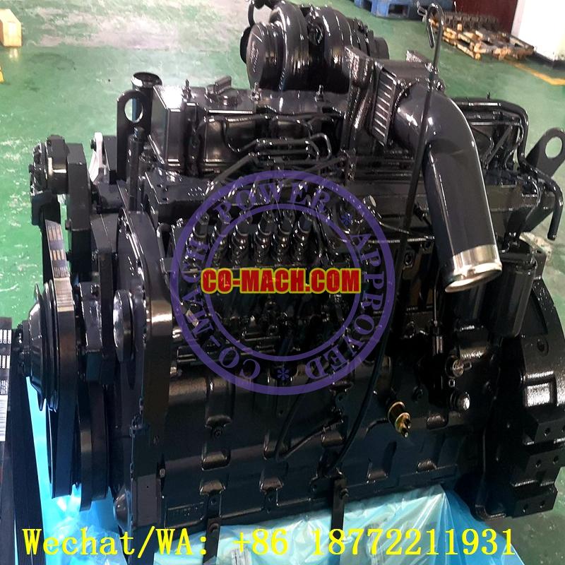 Komatsu PC300LC-7 Hydraulic Excavator Engine SAA6D114E-2 Engine 6CTAA8.3-C242