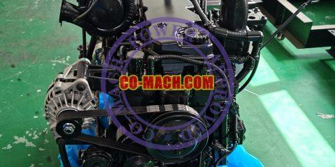 Komatsu SAA6D107E-1 Engine Assy