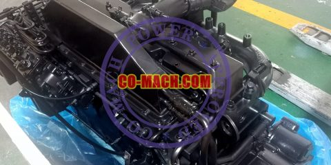 Cummins 6CTA8.3-C260 Engine Assy with Bosch P3000 Fuel Pump