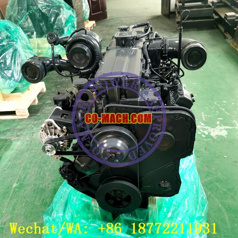 Recon Cummins QSC8.3-C280 Engine Assy for Hyundai Excavator R360LC-7.jpg