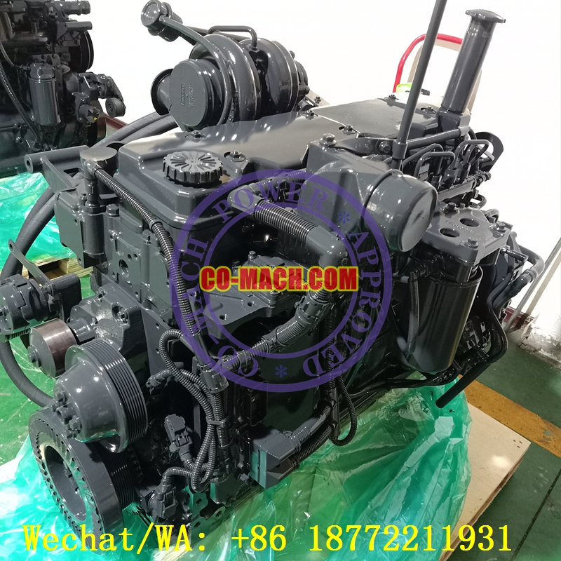 Remanufactured Cummins QSB6.7-C185 Engine Assy