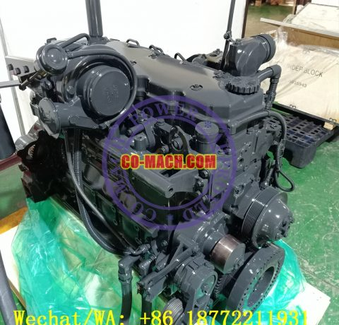 Remanufactured Cummins QSB6.7-C205 Engine Assy