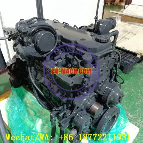 Remanufactured Cummins QSB6.7-C205 Engine Assy