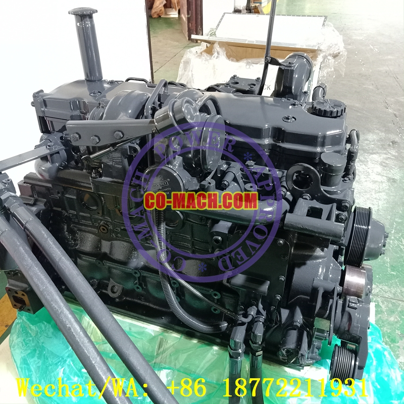 Remanufactured Cummins QSB6.7-C200 Engine Assy