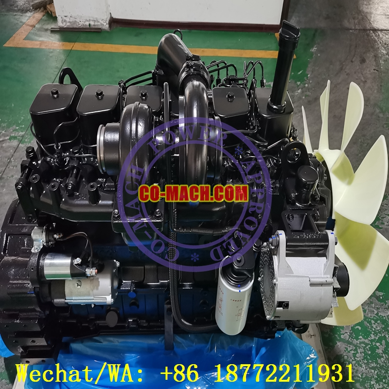 Cummins 6BT5.9-C115 Rebuilt Reman Engine