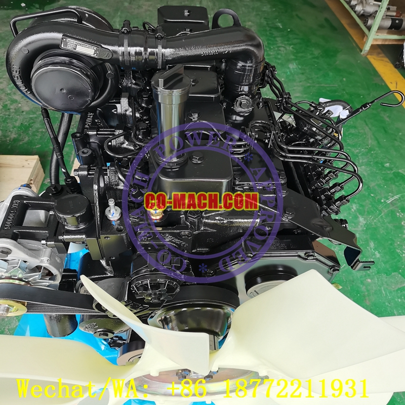 Cummins 6BT5.9-C125 Remanufactured Engine