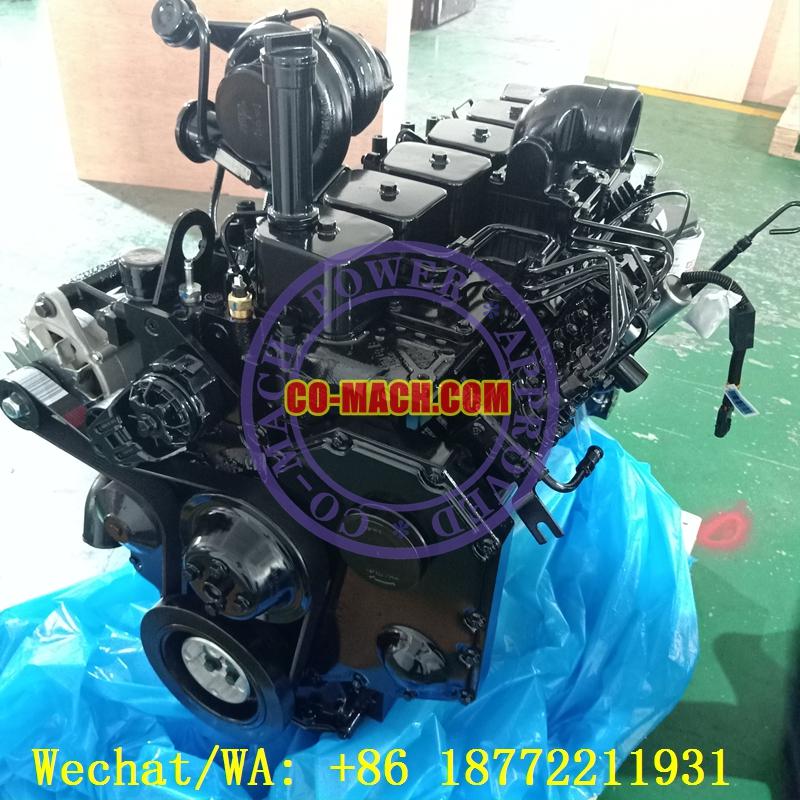 Cummins 6BTAA5.9-C125 Rebuilt Engine