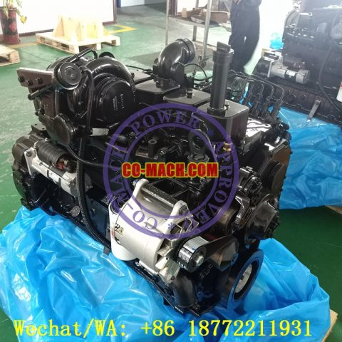 Cummins 6BTAA5.9-C125 Remanufactured Engine