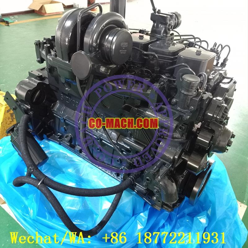 Cummins 6BTAA5.9-C190 Rebuilt Engine