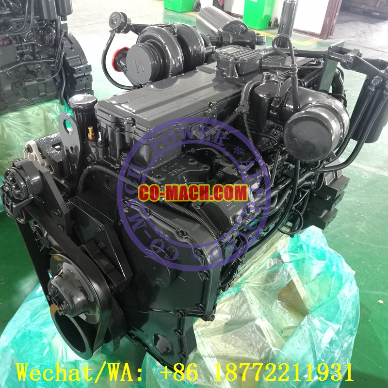 Remanufactured Cummins QSC8.3-C240 Engine Complete