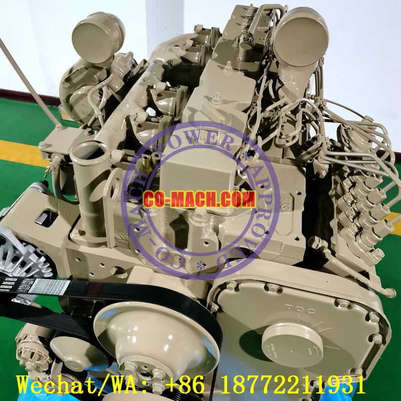 Cummins 6CTAA8.3-C185 Remanufactured Engine