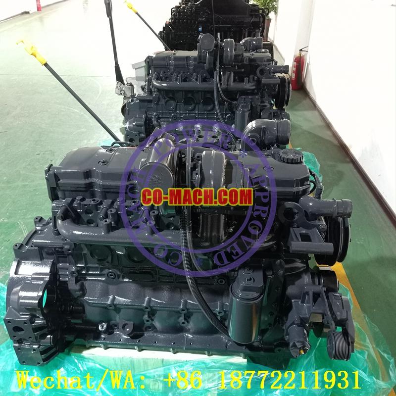 HHI HL760-9 Wheel Loader Engine Cummins QSB6.7-C215