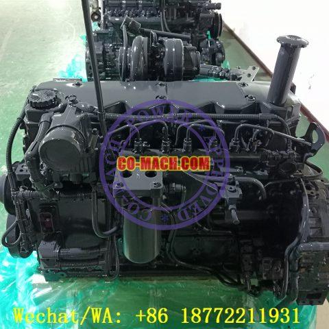 Hyundai R210LC-7 Excavator Engine Cummins QSB6.7-C155 Remanufactured