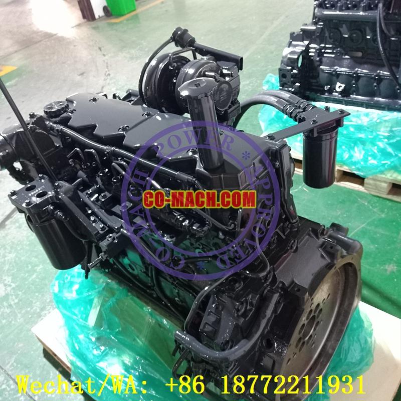 Hyundai R210LC-9 Excavator Engine Cummins QSB6.7-C155