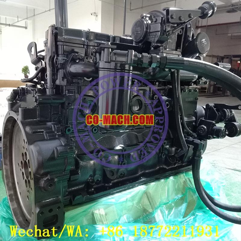 Hyundai R210LC-9 Excavator Engine Cummins QSB6.7-C155 Rebuilt