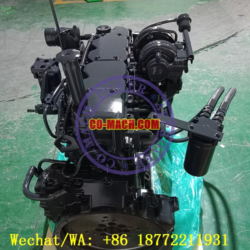 Hyundai R210LC-9 Excavator Engine Cummins QSB6.7-C155 Remanufactured